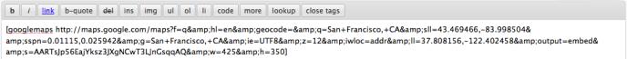 googlemaps-shortcode